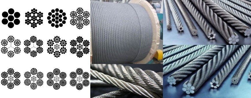 Steel Wire Ropes, Aircraft Cables